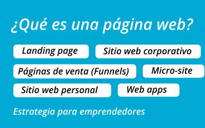 ¿Qué tipo de sitio web debes crear como emprendedor?