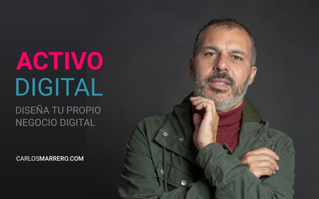 Webinar Activo digital, negocio digital